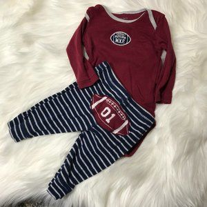 Carter's Future MVP football outfit 3M